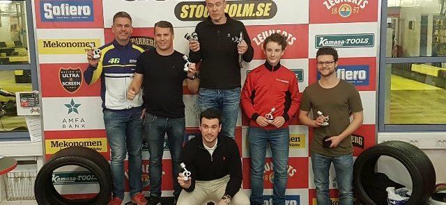 En het och jämn deltävling 2, Speedlab segrare !!!
